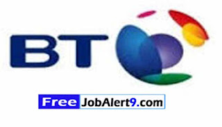 BT Recruitment 2017 Jobs For Freshers Apply