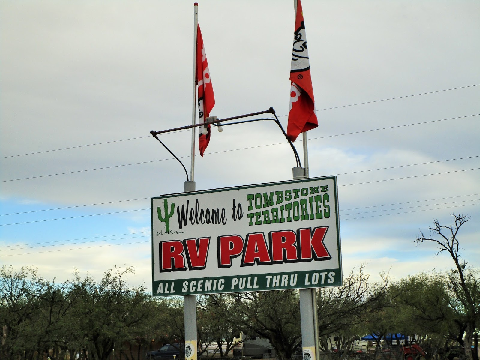 Traveling With The Longdogs Tombstone Territories Rv Park