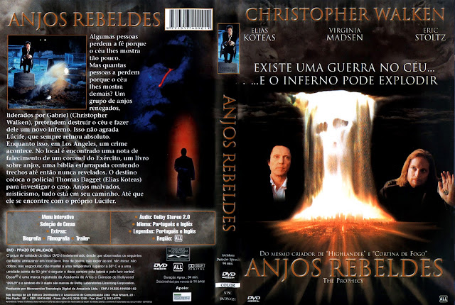 Capa DVD Anjos Rebeldes