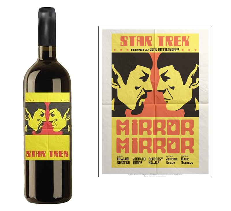 Star Trek Wine Mirror Mirror