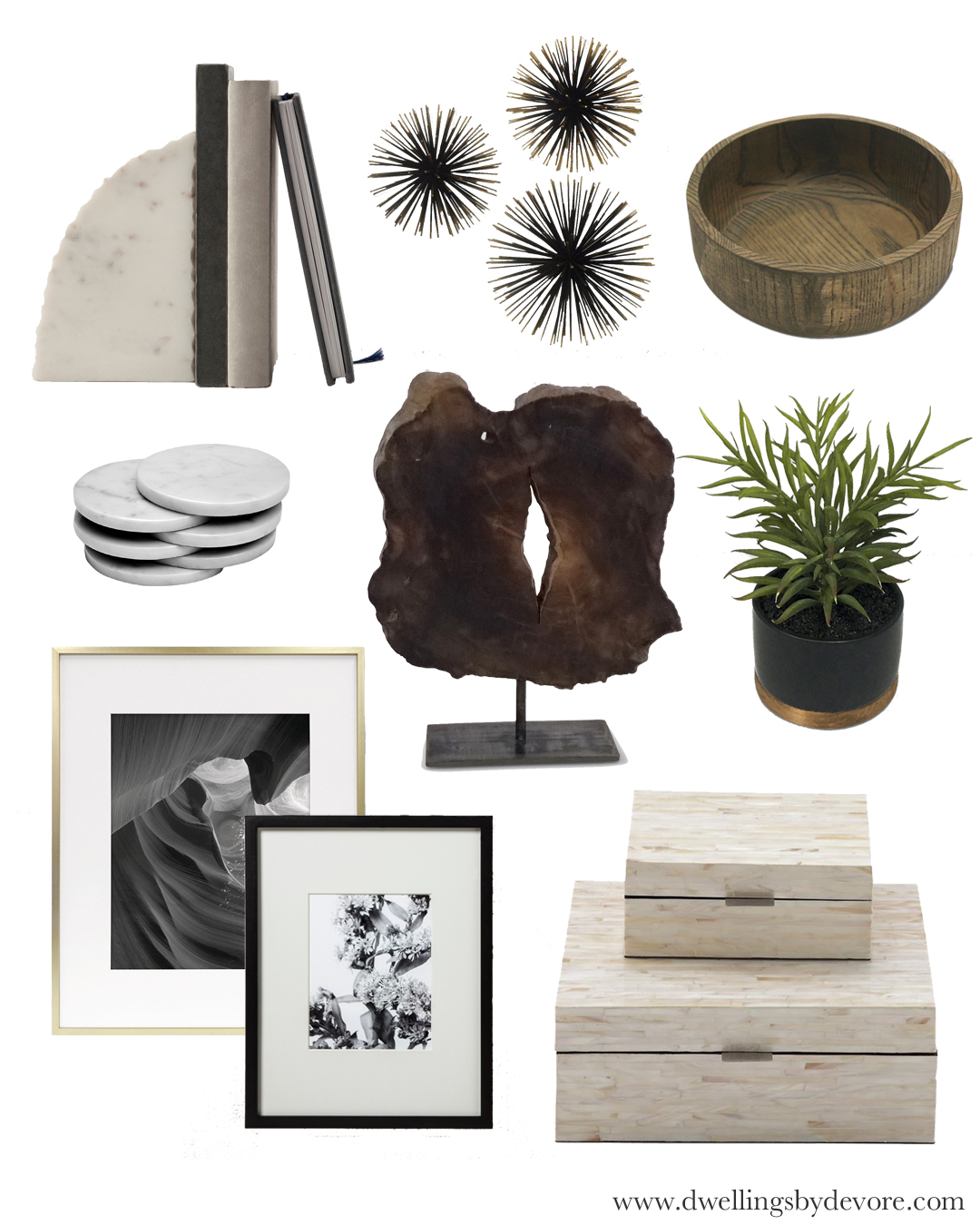 Dwellings By Devore Moodboard Monday Home Decor Accessories