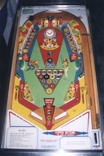Flipper Mécanique Hot shot de Gottlieb 1973