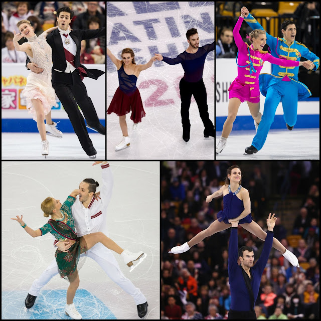 ICE STYLE.....ISU World Figure Skating Championships 2016: Figure Skating Costumes Recap PAIRS and ICE DANCE!