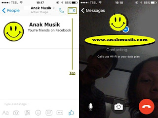 Cara Video Call Di Messenger Facebook Terbaru