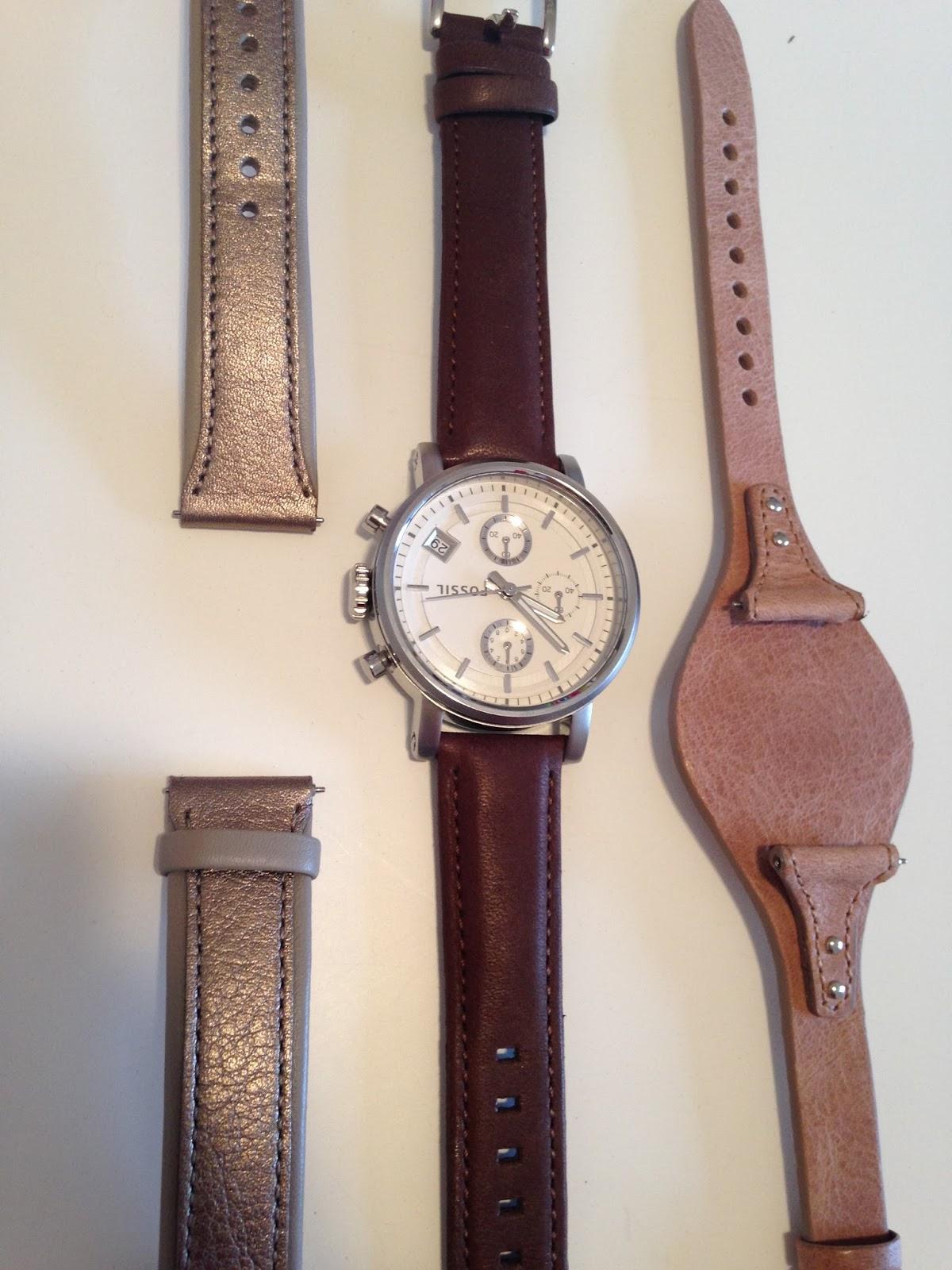 fossil boyfriend watch review change straps
