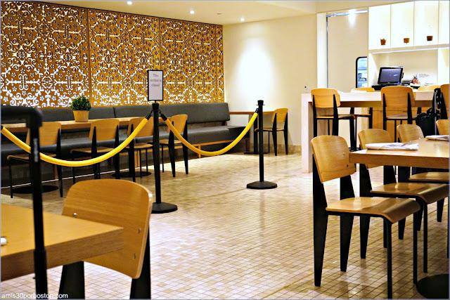 Samovar Tea Lounge en el Aeropuerto de San Francisco