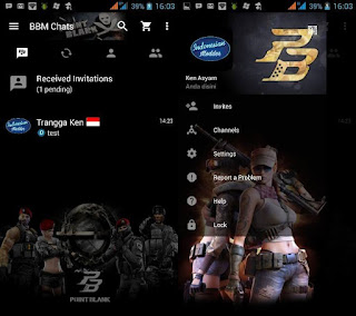 BBM Mod Point Blank v2.12.0.11 Apk Terbaru Gratis