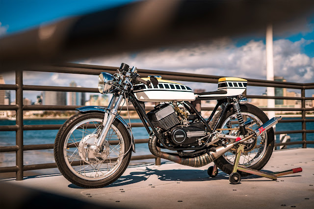 Yamaha R5 1971 By Zanutto Engineering Hell Kustom