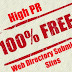 High PR Web Directory and Article Directory Submission Site List