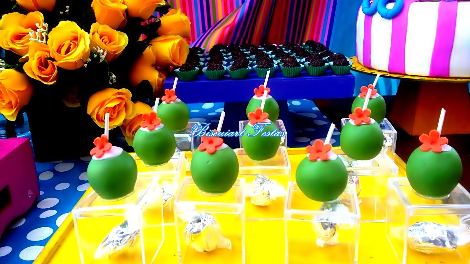 Biscuiart Festas: festa pool party, decorao pool party ...