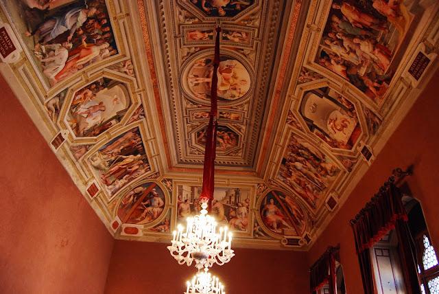 salle du Consistoire, décorée de tapisseries des Gobelins