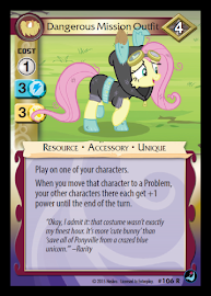 My Little Pony Dangerous Mission Outfit High Magic CCG Card
