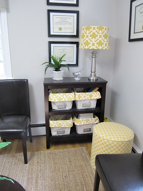 Sew Many Ways Waiting Room Before And After Pictures