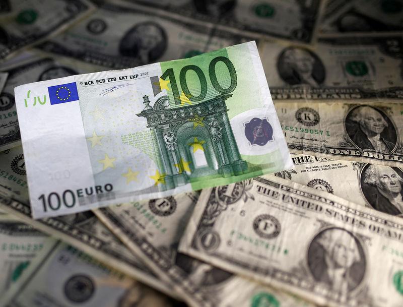 اليورو مقابل الدولار يرتفع في نهاية دورة الولايات المتحدة