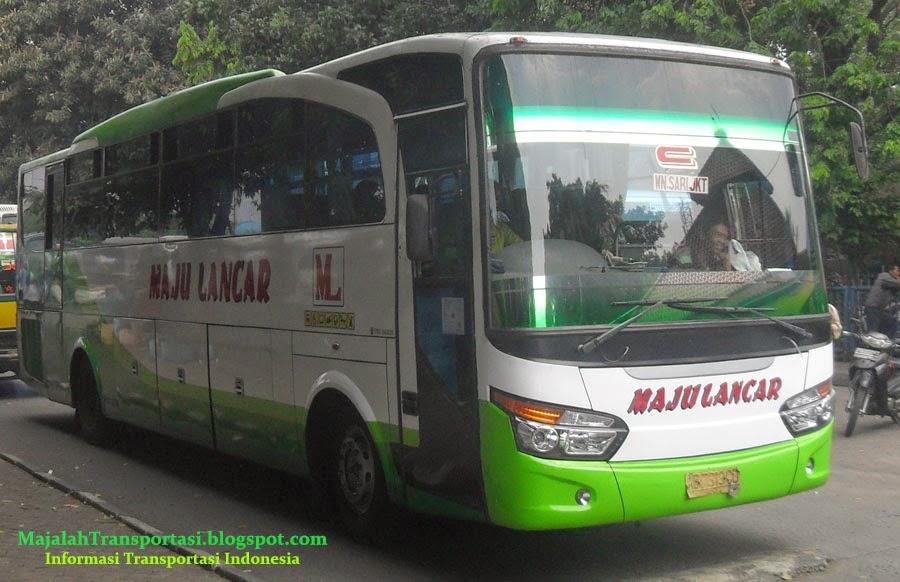 Harga Tiket Bus Maju Lancar