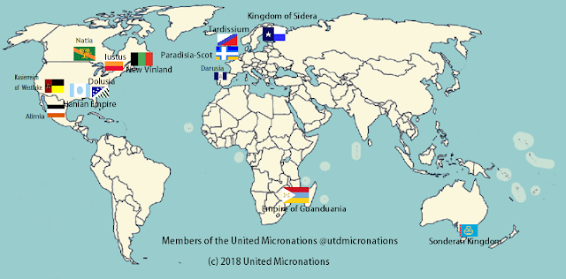 Guanduania Is a Member of the United Micronations