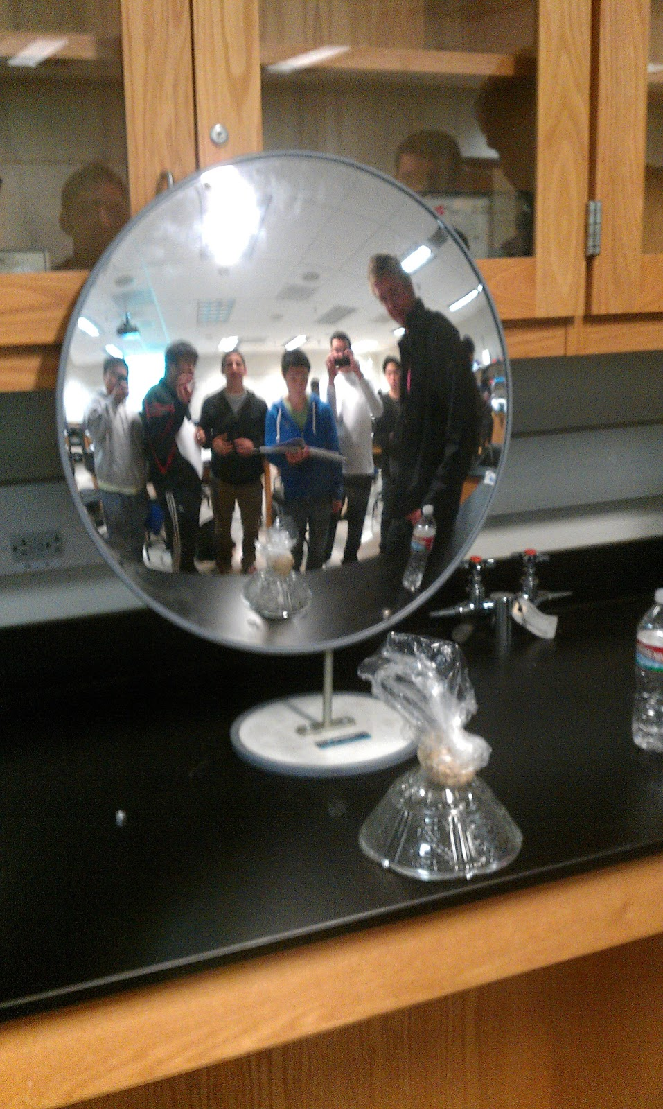 Physics 4c Bcedwards  Concave And Convex Mirrors Lab