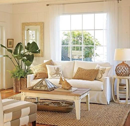 16 neutral coastal living room designs