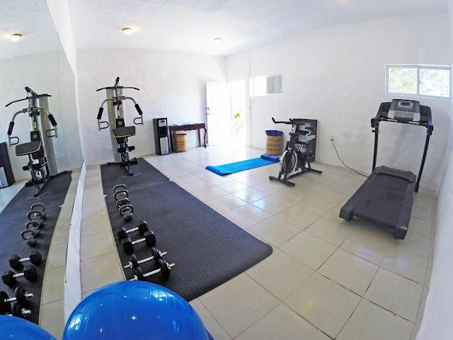 gym - surf ranch resort, san juan del sur, nicaragua