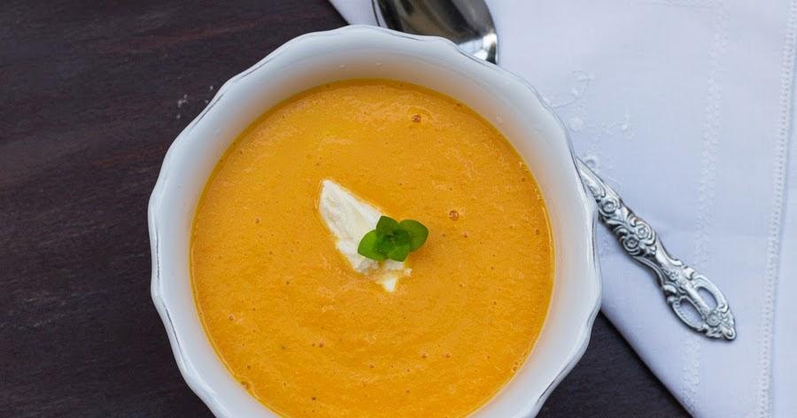 Karotten orangen suppe kochen mit diana - Karotten kochen ...
