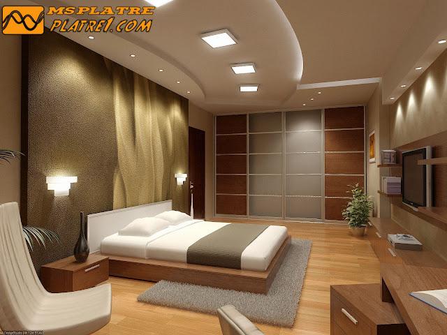 nouveau plafond en platre pour une chambre a coucher - Platre Plafond Chambre A Coucher