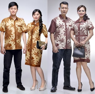Contoh Model Baju Batik Couple