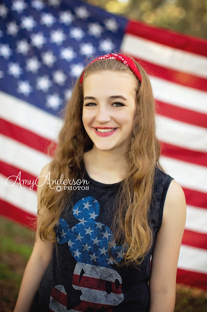 Amy Anderson Photos July 4th photo mini session