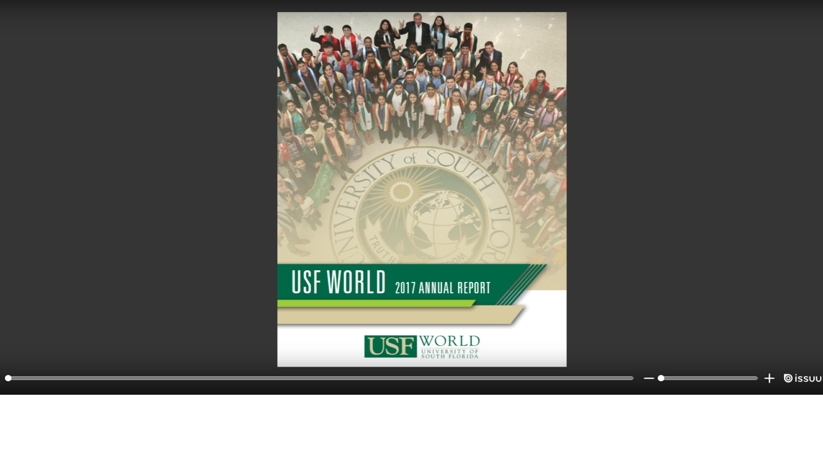 McLauchlan's Macedonian Musings: USF World Annual Report