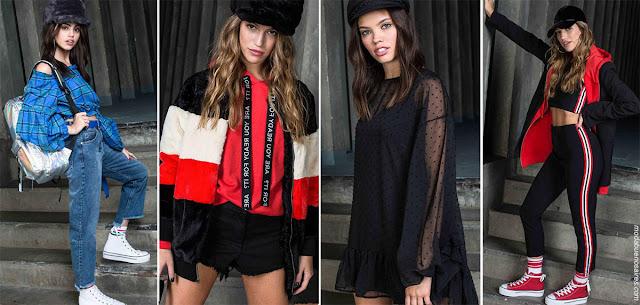 Moda otoño invierno 2018. | Ropa de moda juvenil otoño invierno 2018: vestidos, pantalones, blusas invierno 2018.
