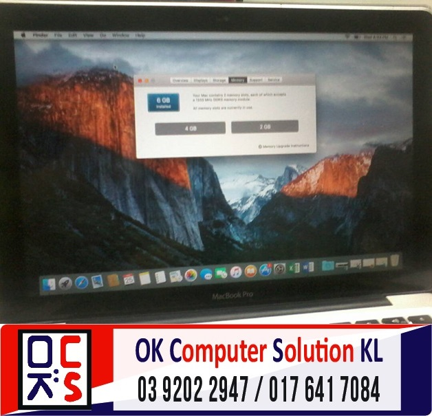 [SOLVED] UPGRADE SSD MACBOOK PRO A1278 | REPAIR MAC AMPANG 3