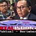 Ini Alasan Ketua Umum Partai Garindra Prabowo Memberi Restu M Taufik Jadi Wagub DKI Jakarta