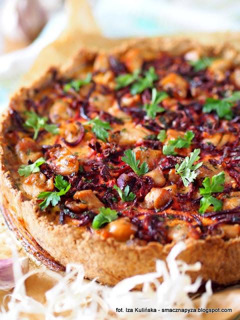 zapiekanka z kurczakiem i burakiem, tarta wytrawna, spaghetti z buraka, makaron z warzyw, polubisz zawartosc, obiad z piekarnika, tarta z miesem i warzywami