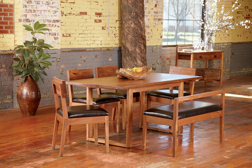 Asian Contemporary Dining Room Furniture From HAIKU Designs