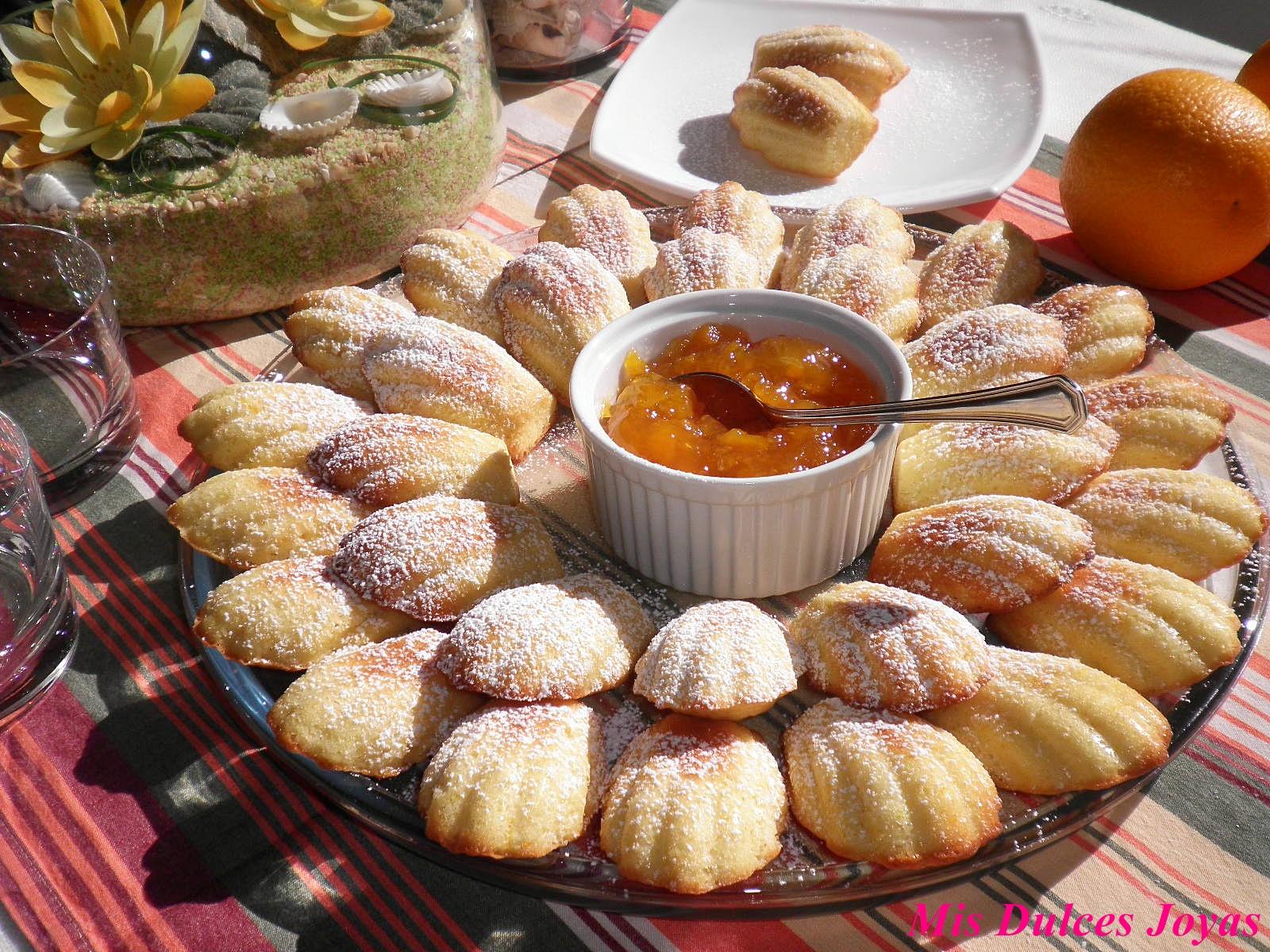 Madeleines magdalenas mis dulces joyas - Madalenas o magdalenas ...
