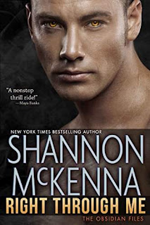 Right Through Me, a paranormal romantic suspense novel by Shannon McKenna