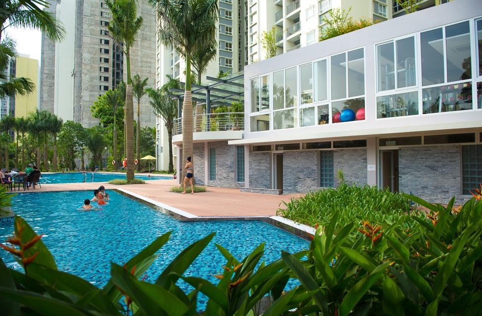 Bể bơi hiện đại ở Goldlight Complex