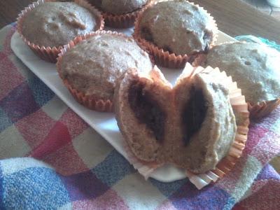 muffin vegan frutta senza zucchero
