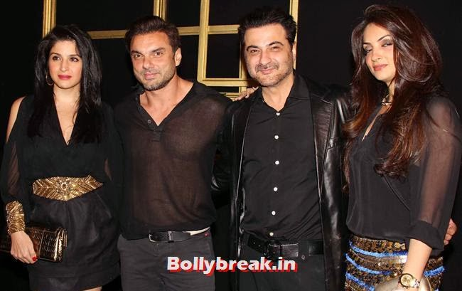 Soha Ali Khan and Sanjay Kapoor, All Bollywood Celebs at Deepika Padukone Golden Party