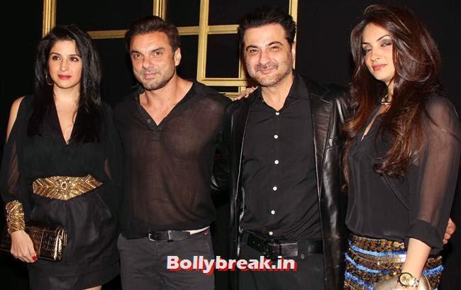 Soha Ali Khan and Sanjay Kapoor