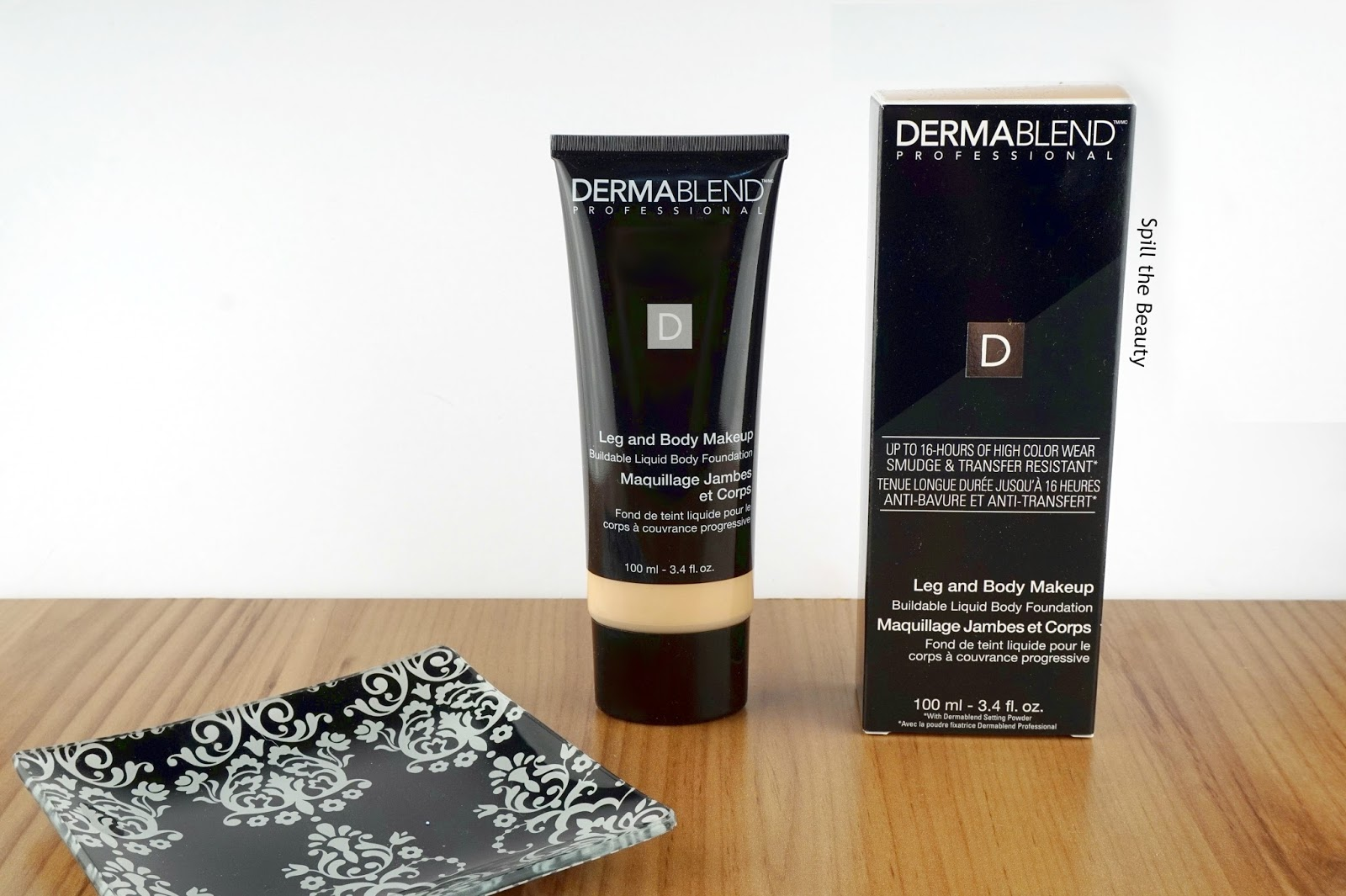 Dermablend Leg and Body Makeup in 'Fair Ivory' – Review, swatches, Before & After