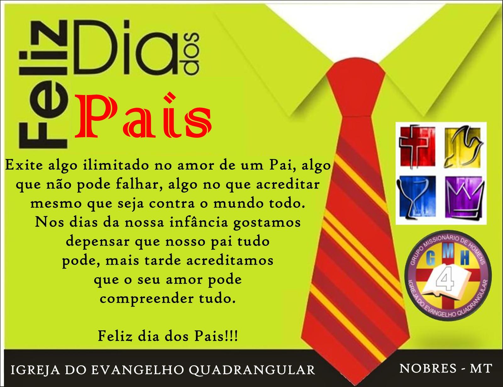 Musical Dia Dos Pais Evangelica: MT: Mensagem Bíblica Aos Pais