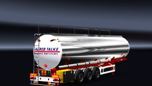 Metallic Tank Fuel trailer
