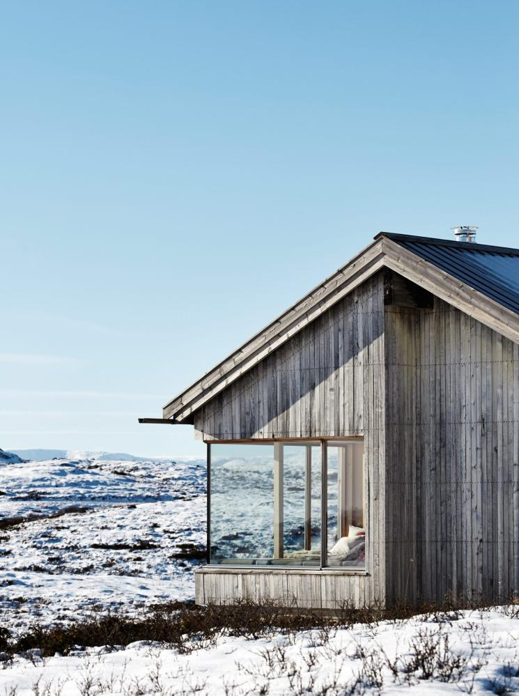 Mountain Architects Hendricks: Scandinavian Retreat.: A Cabin With A View