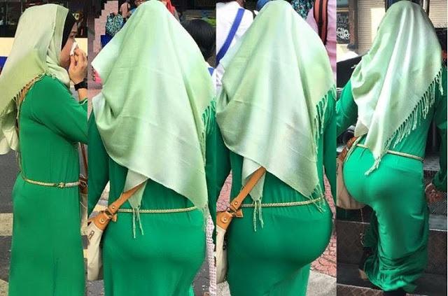 ADUHAII...Inikah pakaian hijabiblista WANITA MELAYU Akhir