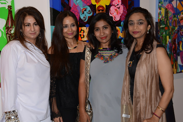 Surita Tandon, Shalu Jindal, Parvati Reddy and Payal Kapoor