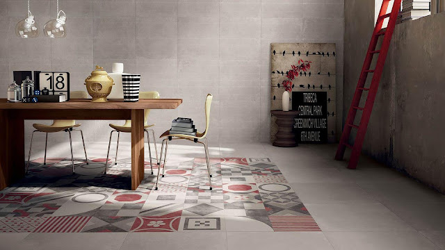 New tiles design with with DOCKS series - Cement look