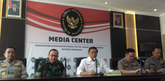 Wiranto: Aksi Besar-besaran di Jakarta Terindikasi Ancam Kedaulatan