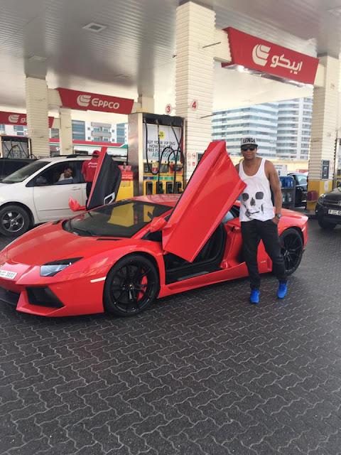 Big Nelo comprou uma Lamborghini?