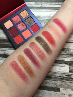 Beauty Glazed | Mars Palette (Review and Swatches)