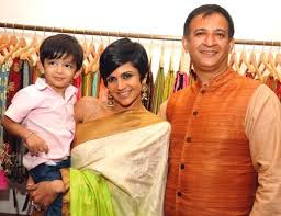 Mandira Bedi Family Husband Son Daughter Father Mother Age Height Biography Profile Wedding Photos